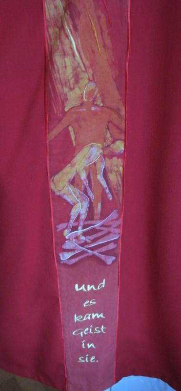 Bild und Schriftzug der Dalmatik