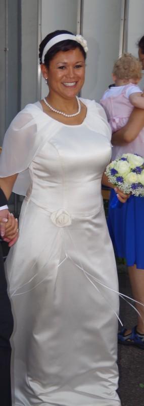 Typgerechtes Brautkleid