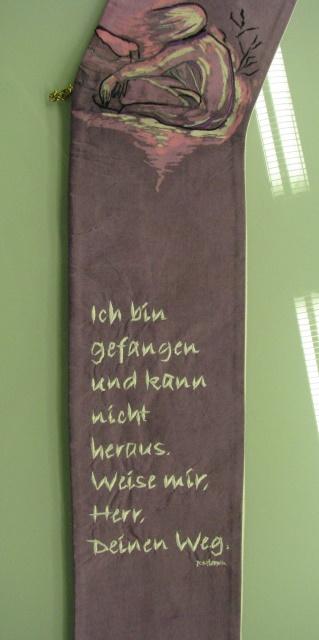 Schriftzug der Stola