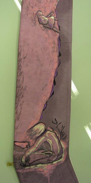 Batikbild der Stola